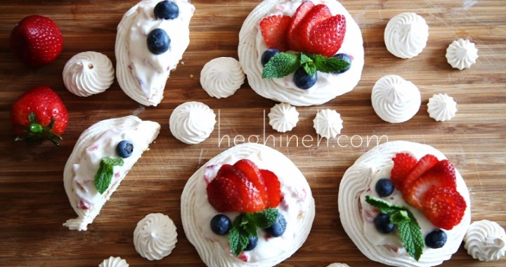 Mini Pavlova Cheesecake Recipe