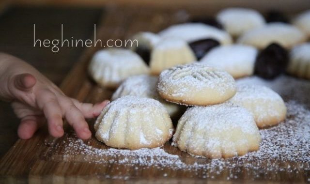 Maamoul Cookies Recipe - Stuffed Cookies