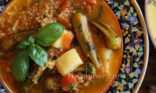 Okra Soup - Bamia Recipe - Կուտատուկով Ապուր
