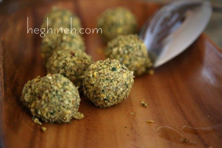 Falafel Balls Recipe - Middle Eastern Food
