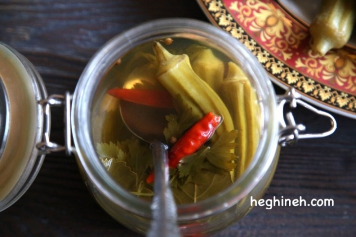Pickled Okra Recipe - Pickled Vegetables