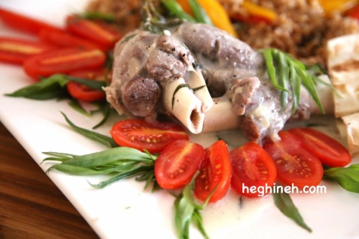 Tarragon Lamb Shanks Recipe - Armenian Cuisine