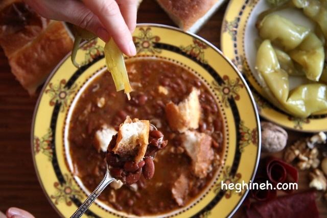 Dried Bean Soup Recipe - Լոբով Փշեջուր
