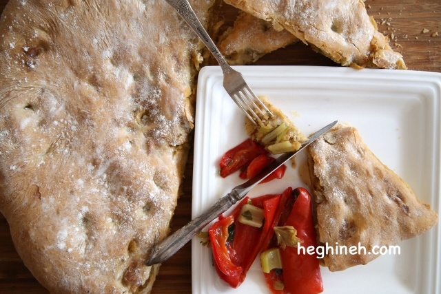 Potato Stuffed Bread - Jumbo Potato Pie Recipe