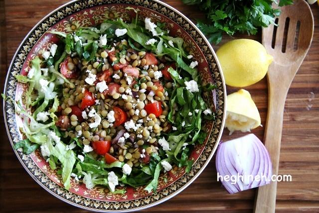 Lentil Salad with Feta Recipe