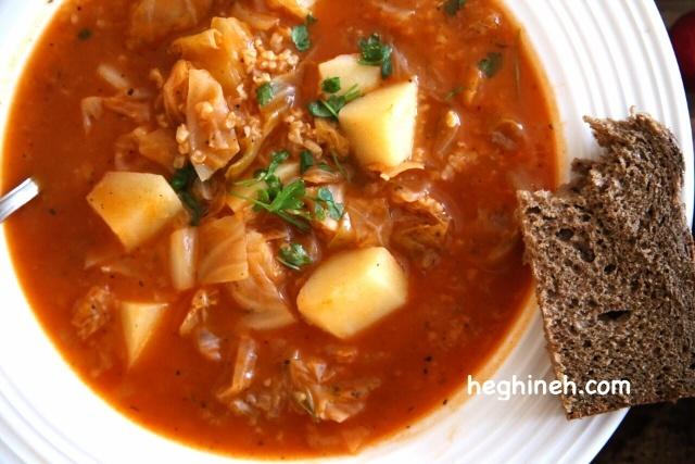 Pickled Cabbage Soup Recipe - Qrchik - Քռչիկ