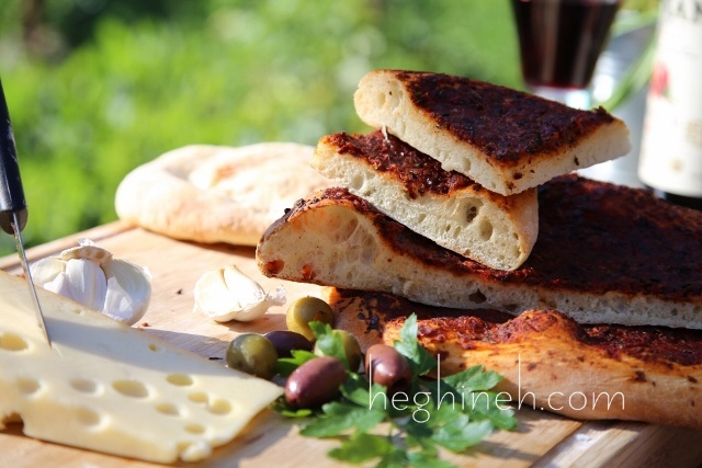Armenian Olive Bread Recipe by Heghineh