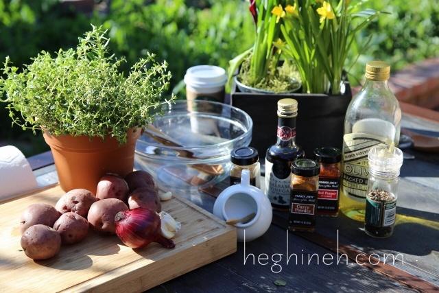 Vinegar Potato Salad Recipe by Heghineh