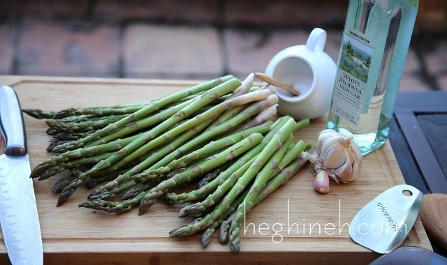 Brined Asparagus Recipe by Heghineh