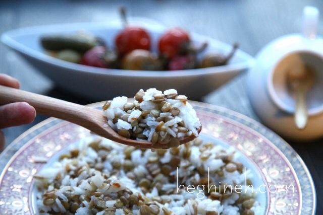 Lentil and Rice Pilaf Recipe - Armenian Cuisine