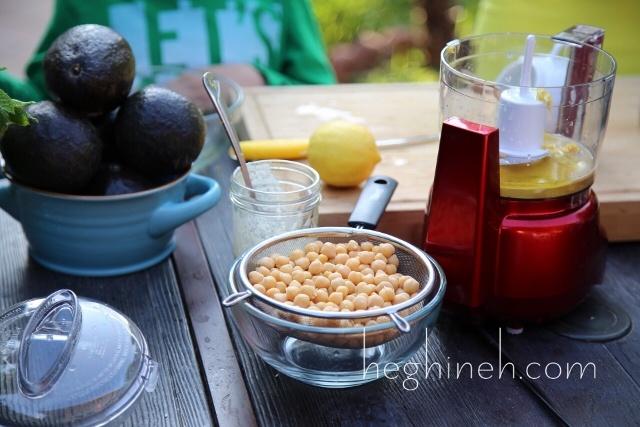 Avocado Hummus Recipe by Heghineh