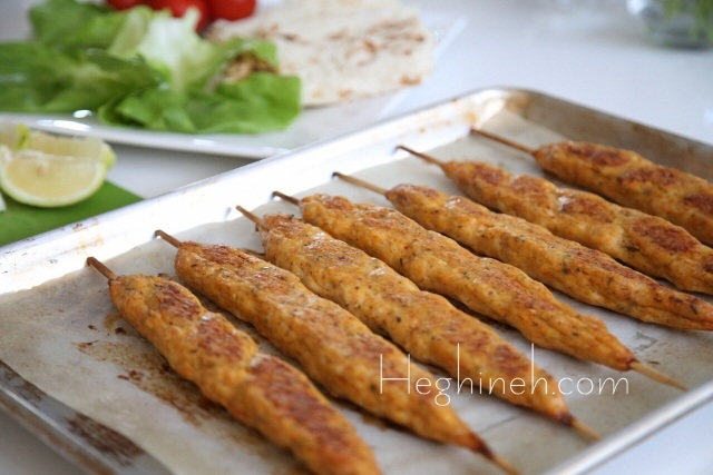 Shrimp Fish Kebab Recipe - Armenian Cuisine - Heghineh Cooking Show