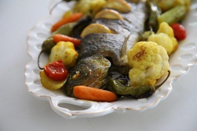 Roasted Trout & Veggies Recipe