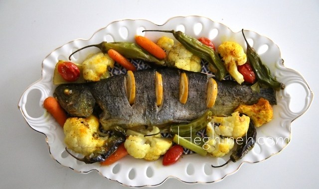 Roasted Trout & Veggies Recipe
