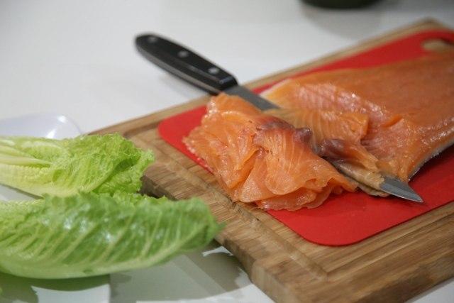 Lavash Salmon Wraps - Լավաշով Ձկով Փաթաթան