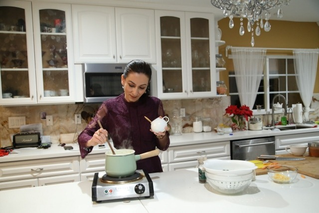 Broccoli Cheddar Soup - Բրոկոլիով Ապուր - Heghineh Cooking Show