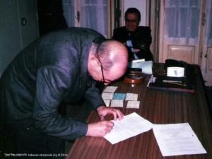 Assinatura da escritura pública em Notário | Sapese Noymark | 1999