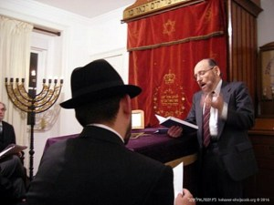 Cerimónia de Dedicação presidida pelo Rabino Jules Harlow | 2006