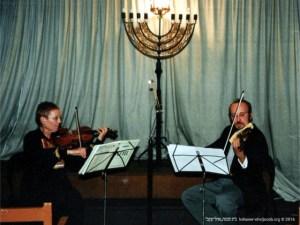 Recital de violino | Christa Ruppert e Danilo Souza