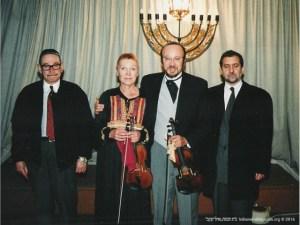 Recital de violino | Sapese Noymark, Christa Ruppert, Danilo Souza, Cônsul do Brasil