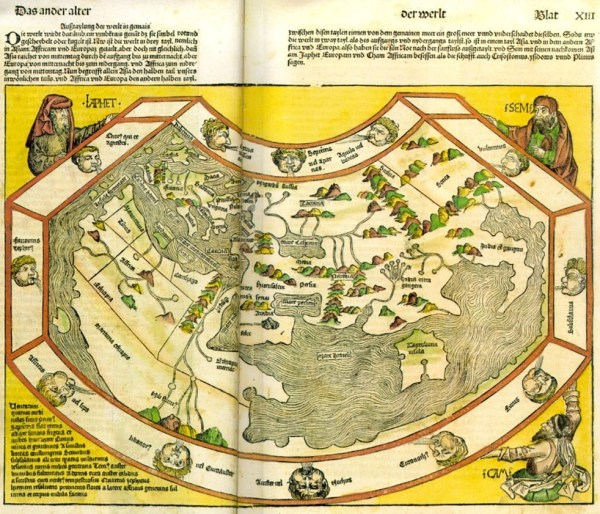 1 Hartmann Schedel, Liber chronicarum, Nuernberg, 1493