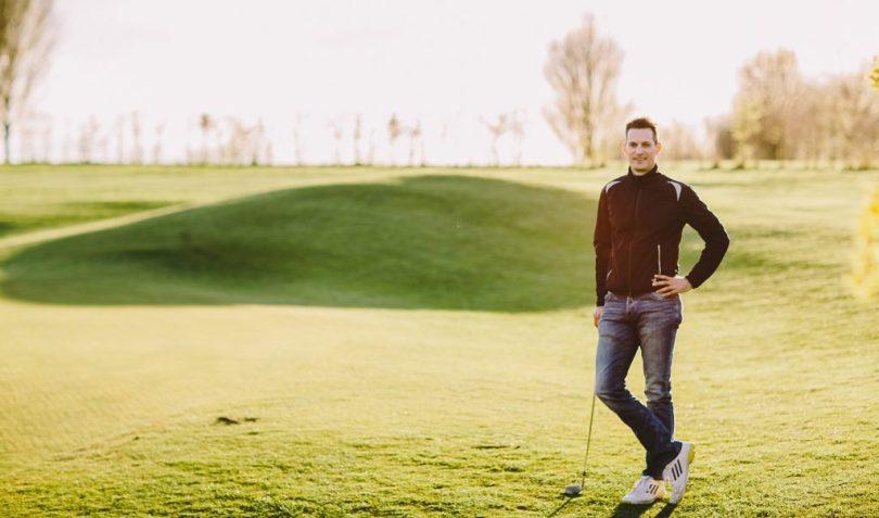 Golfathetik-Trainer Markus Pabst