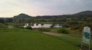 Inselgrün als Keilerkopf auf dem Niedersachsen Course