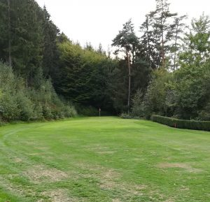 Schmale Grüns im Golfclub am Lüderich