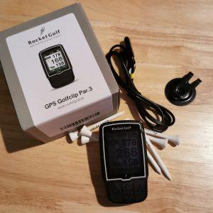 GPS Golfclip Par.3 von RocketGolf