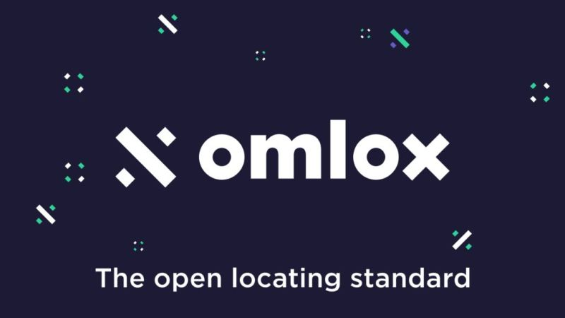 Image of omlox logo and slogan.