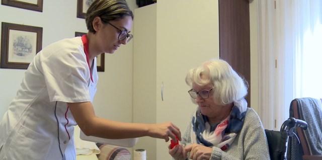 Gepflegte Integration im Seniorenheim