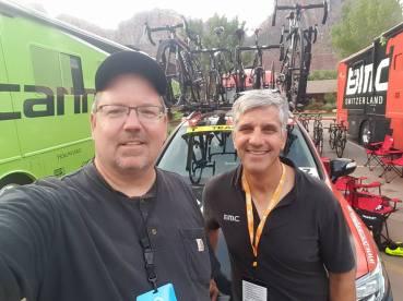 Matt Rayner and Eric Heiden