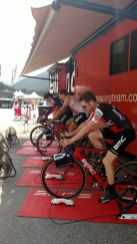 About to start Stage 3-Lot's of horse power chomping at the bit.
