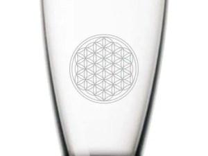 Glas Blume des Lebens