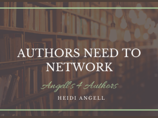 Authors Need to Network
