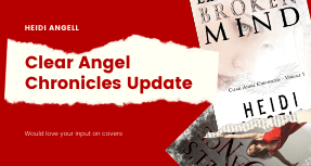 Clear Angel Chronicles Cover Update