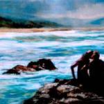 Port Edward - an oil painint by Heidi Beyers