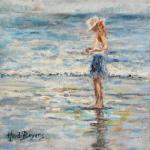 Contemplative mood - an oil painting by Heidi Beyers