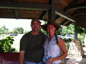 Shelley and Brian of Proffitt Cattle Co.,
