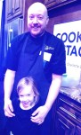 Carpe Diem's Chef Paul Ketterhagen with his biggest fan