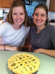 These two loved the Vodka pie crust when they attended my Apple of Your Pie cooking class earlier this year