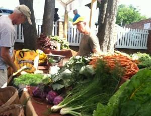 sammy at the market