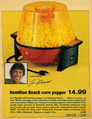 popcorn popper advertisement