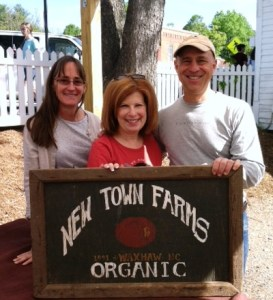 Heidi Sammy and Melinda  New Town farms