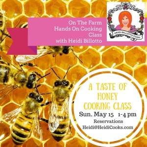 a taste of honey cooking class