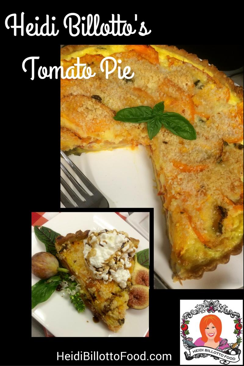 Tomato Time Heidi Billotto's Tomato Pie