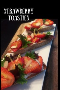 Strawberry Toasties