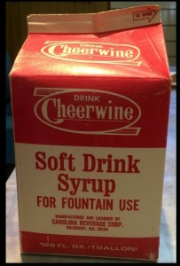 syrup box