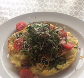 300 East Brunch - Frittata of the week