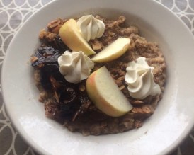 300 East brunch - Bruleed Oatmeal